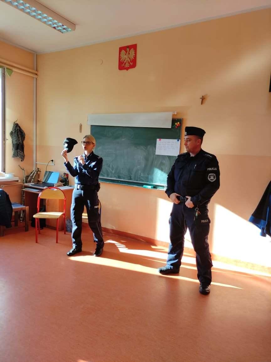 Goscie z Policji
